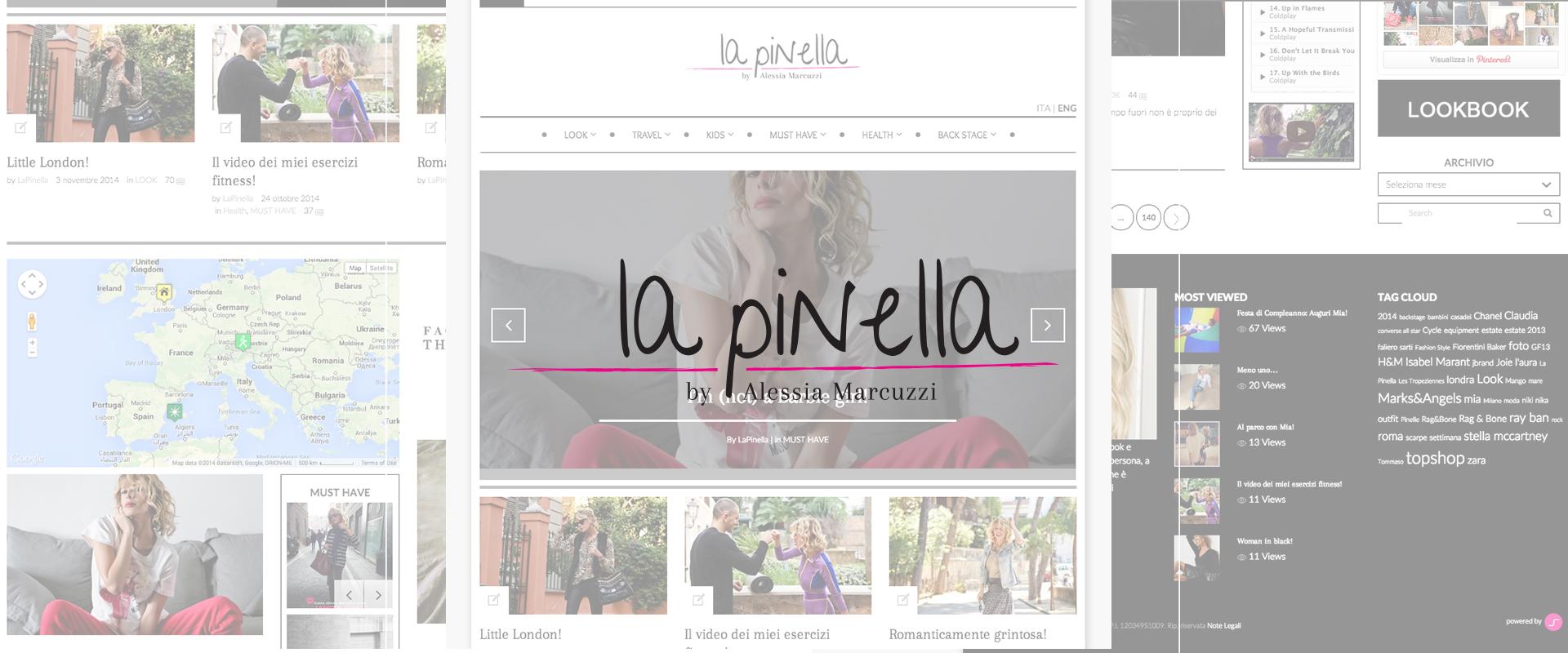 La Pinella il blog di Alessia Marcuzzi by Dotfarm