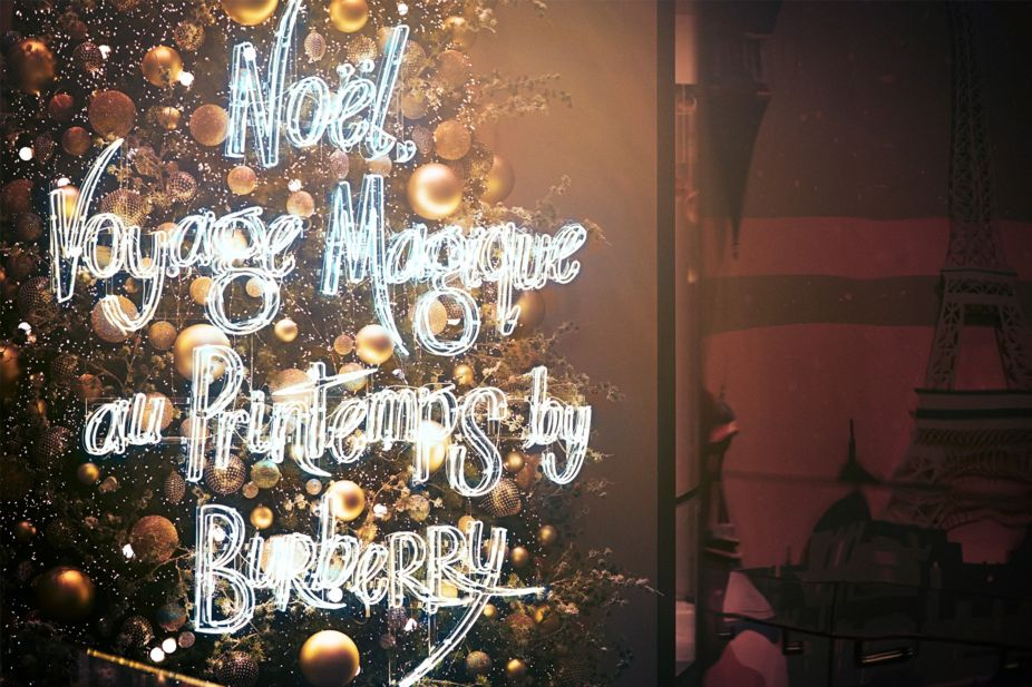 Burberry Magical Christmas journey