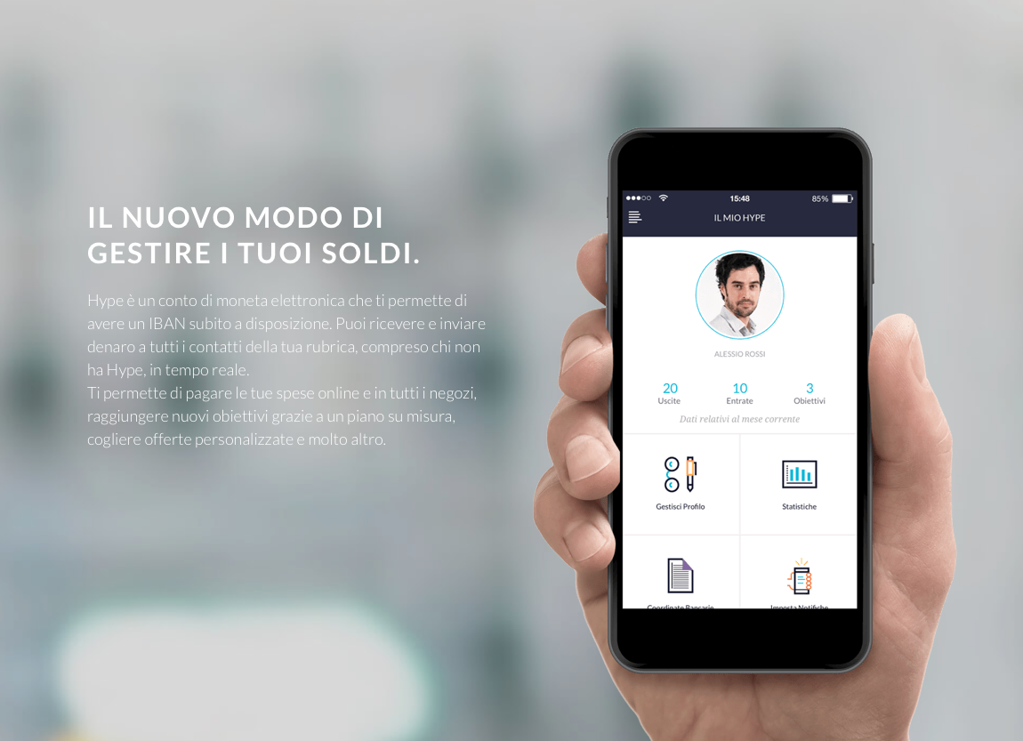 Hype un tool per digitalizzare il denaro