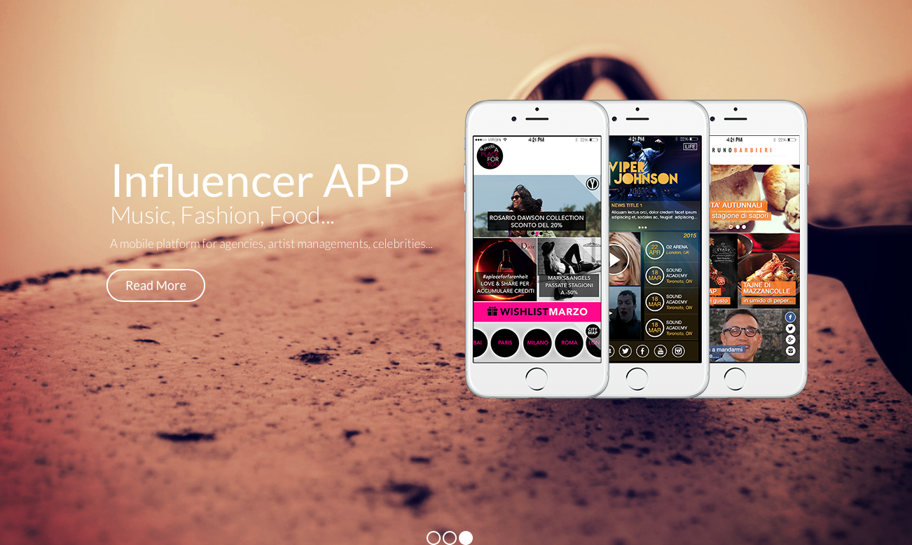 influencer app tech club