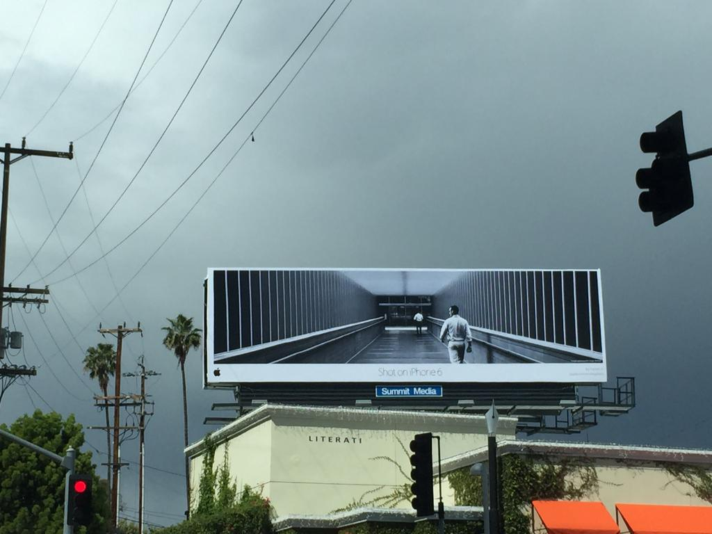 iphone billboard