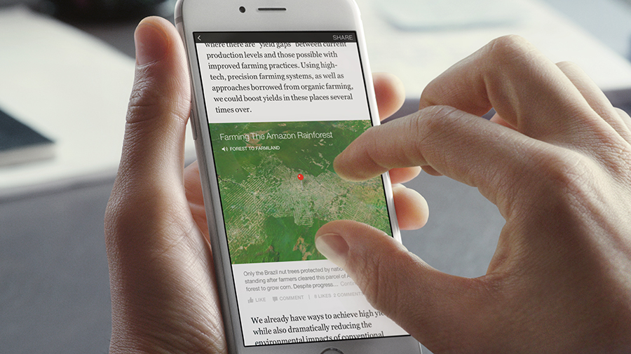 instant article map