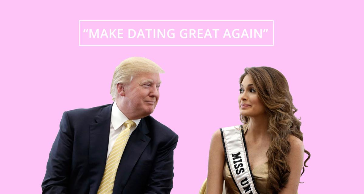 Trump dating website