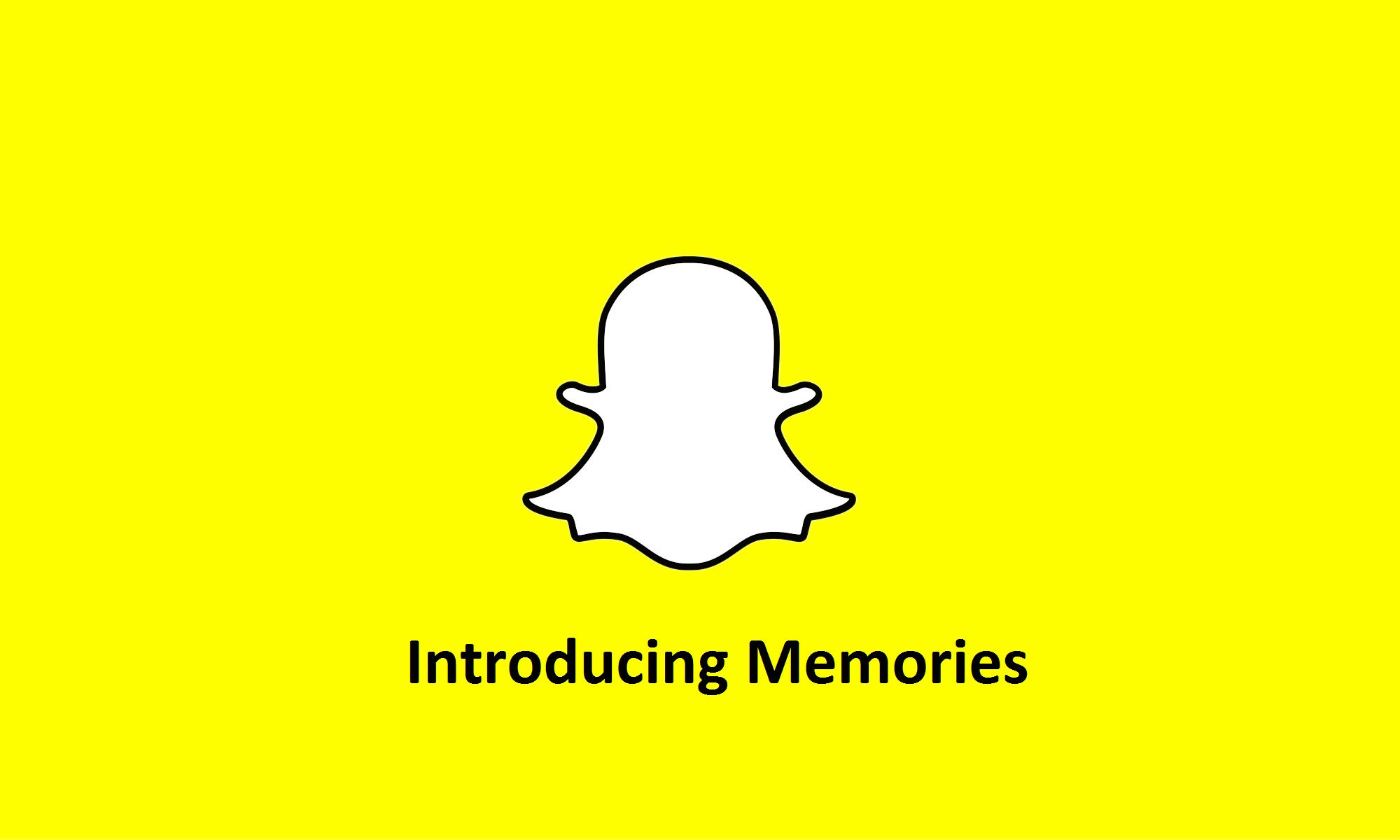 Snapchat revolution: photo storage with Memories