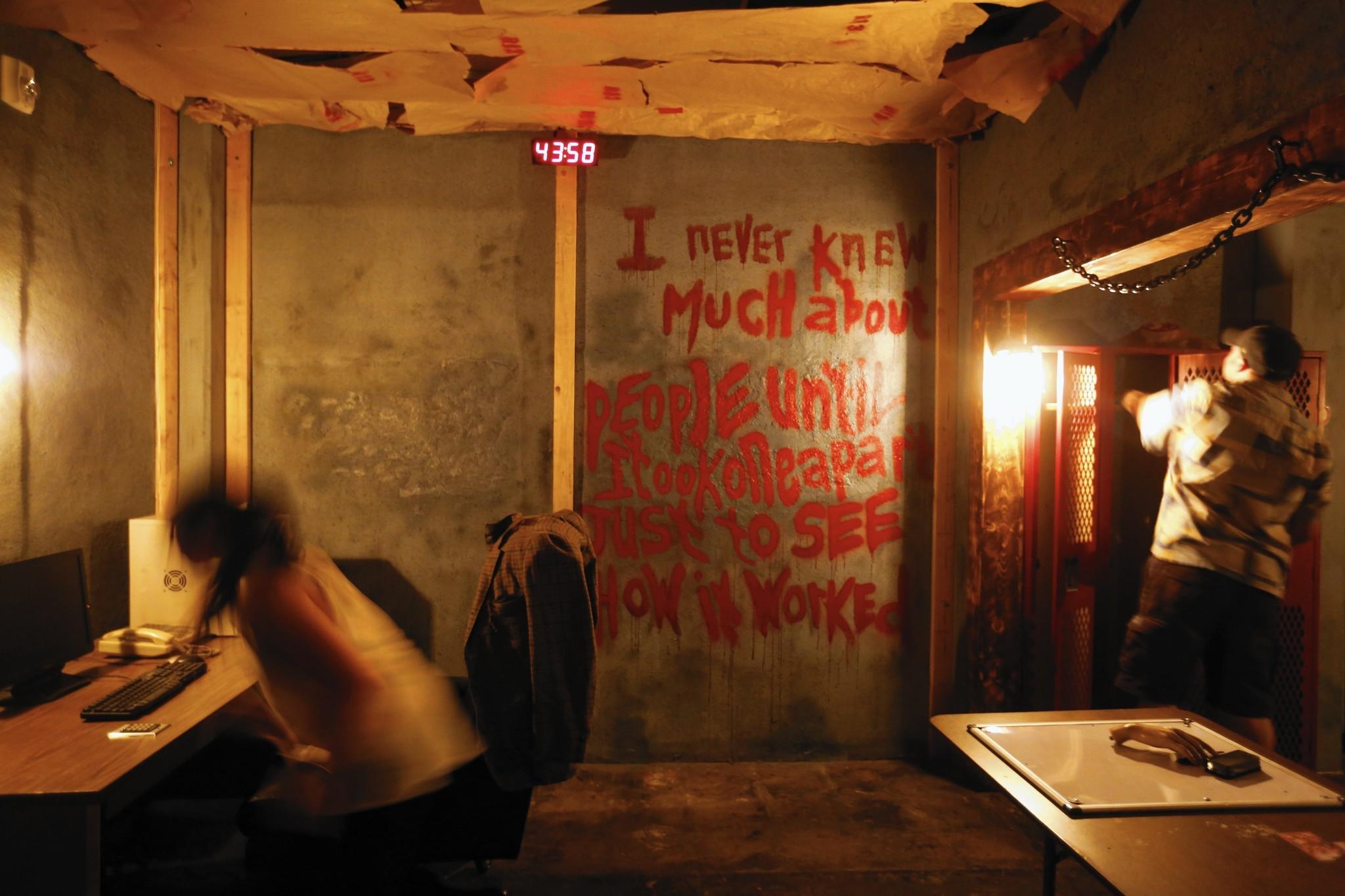 escape room hambient | Dotmug
