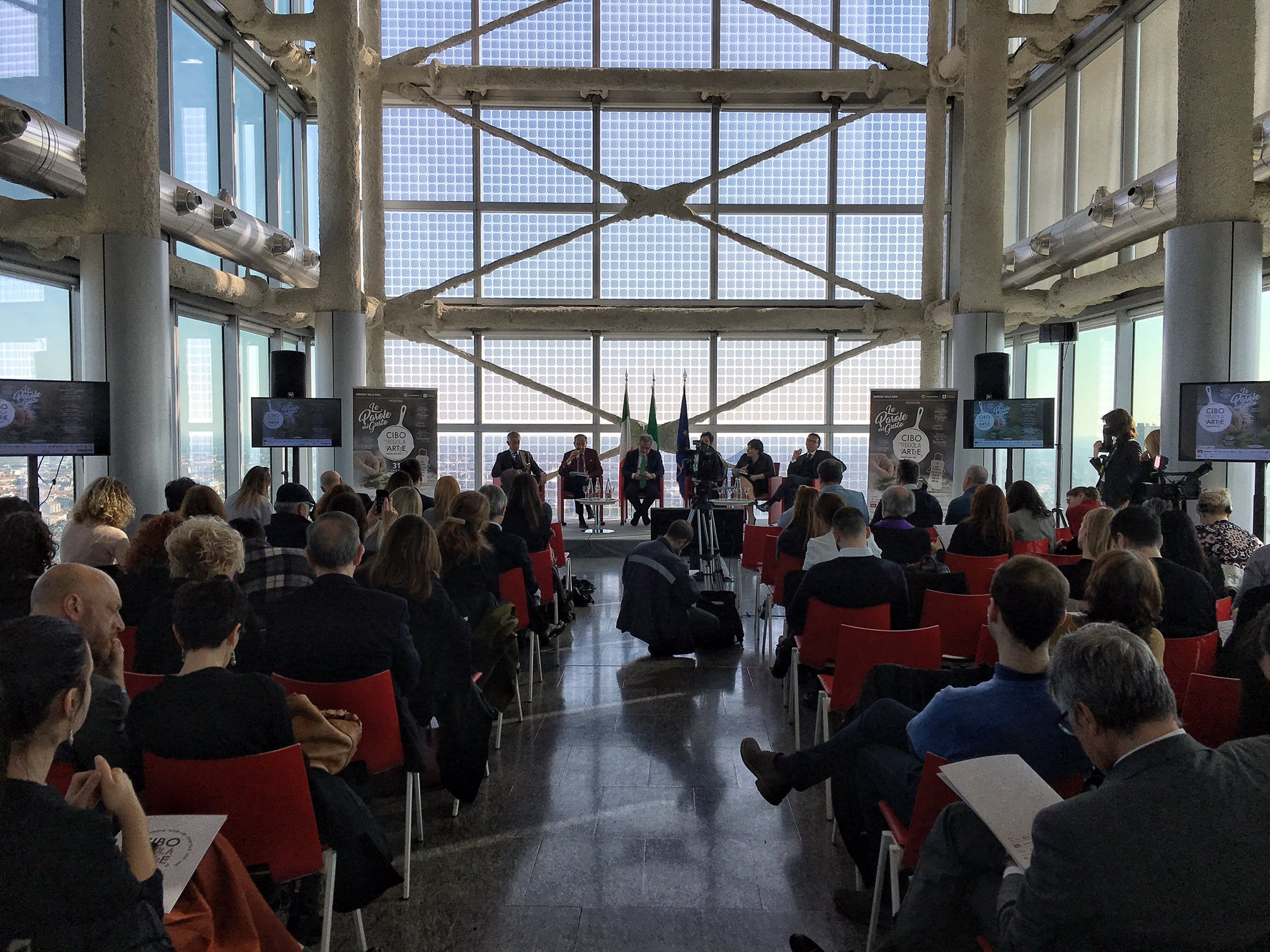 conferenza stampa - Cibo a regola d'arte