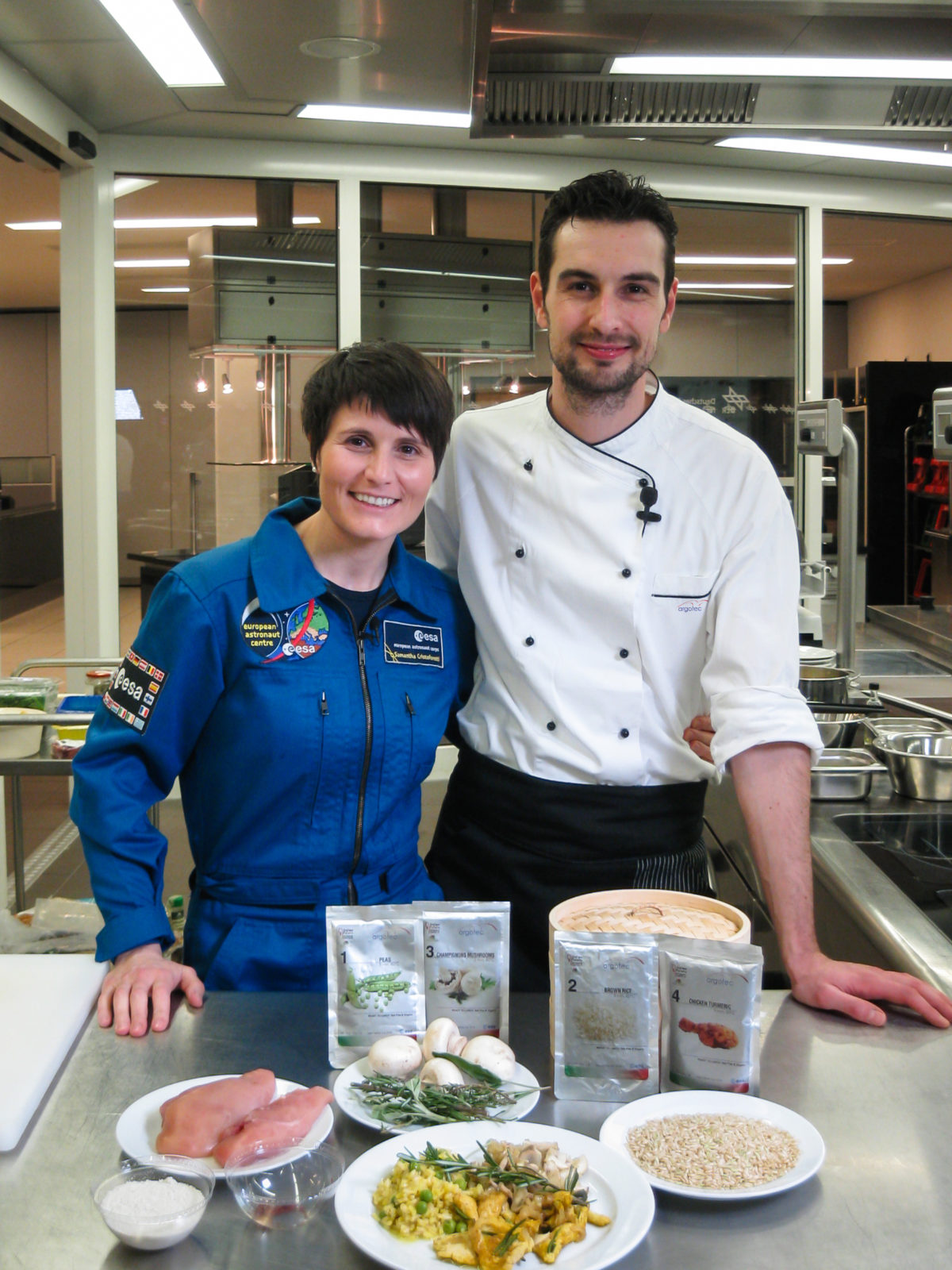 Argrotec - Spacefood - Samantha Cristoforetti | Dotmug
