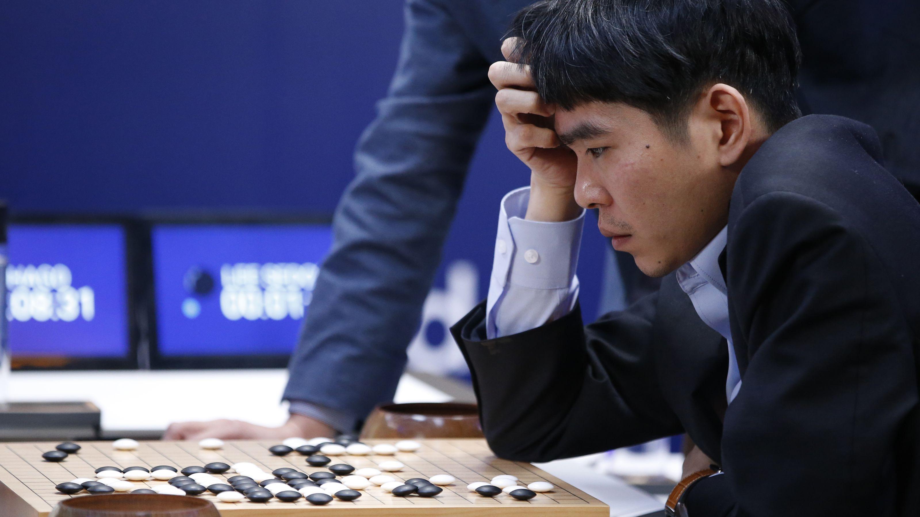 Intelligenza artificiale - AlphaGo - Gioco - Ke Jie Dotmug