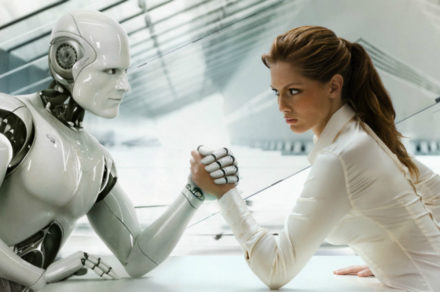 Intelligenza artificiale - Transumanesimo - Robot Dotmug