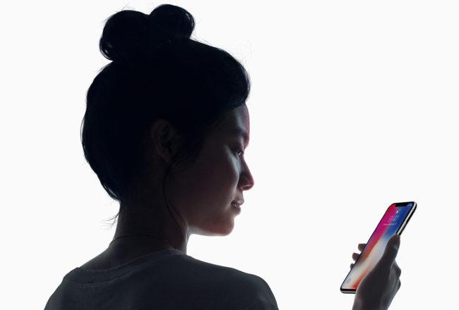 iPhone X - Face ID - Riconoscimento Facciale - Apple Dotmug