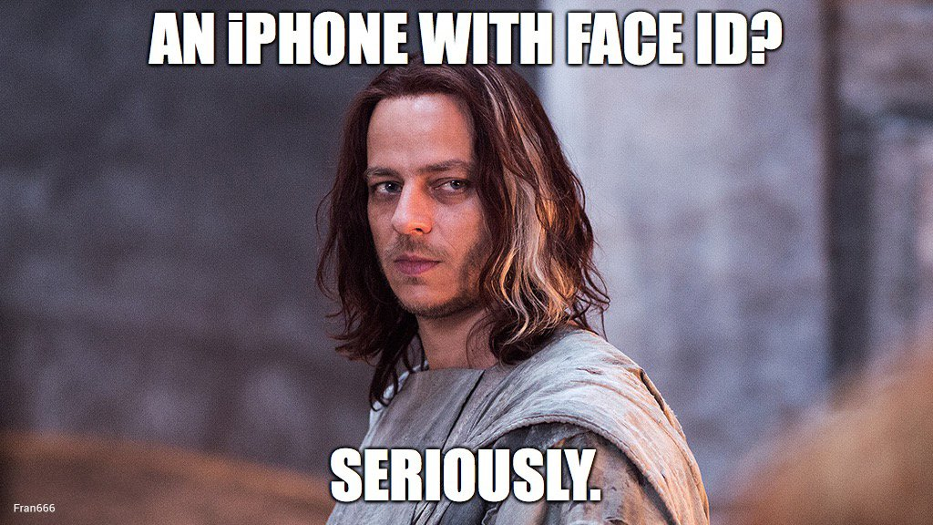 iPhone X - Face ID - Riconoscimento Facciale - Jaquen H'ghar Dotmug