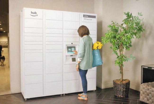 Amazon The Hub - Smart Locker - Delivery Dotmug