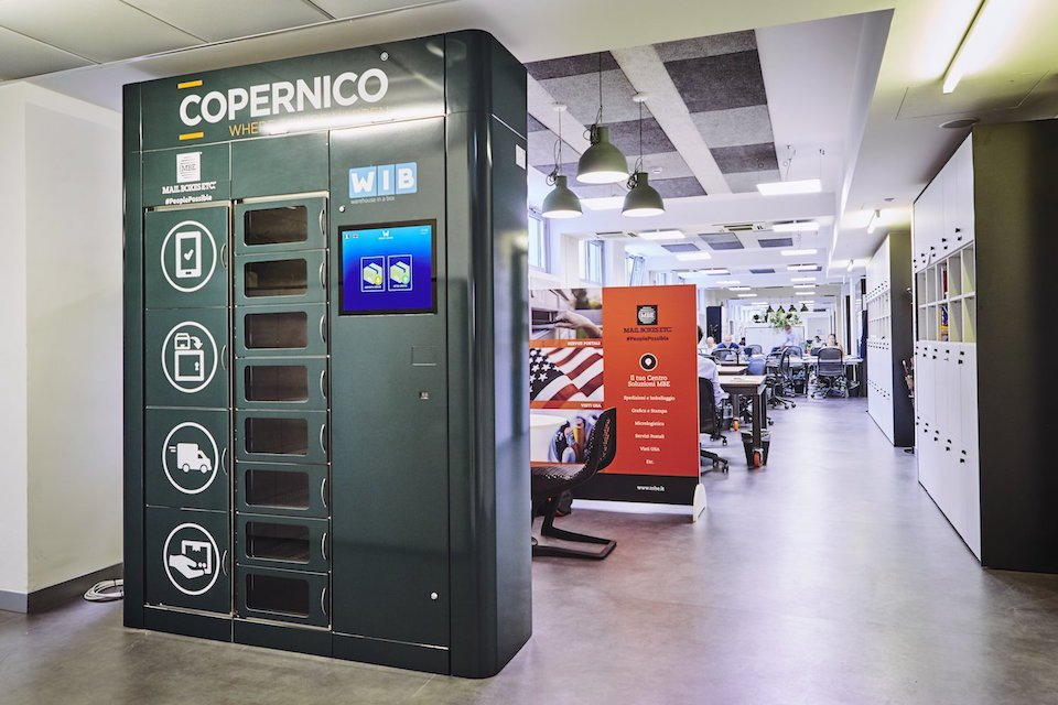 Copernico - Coworking - Smart Locker - Delivery Dotmug