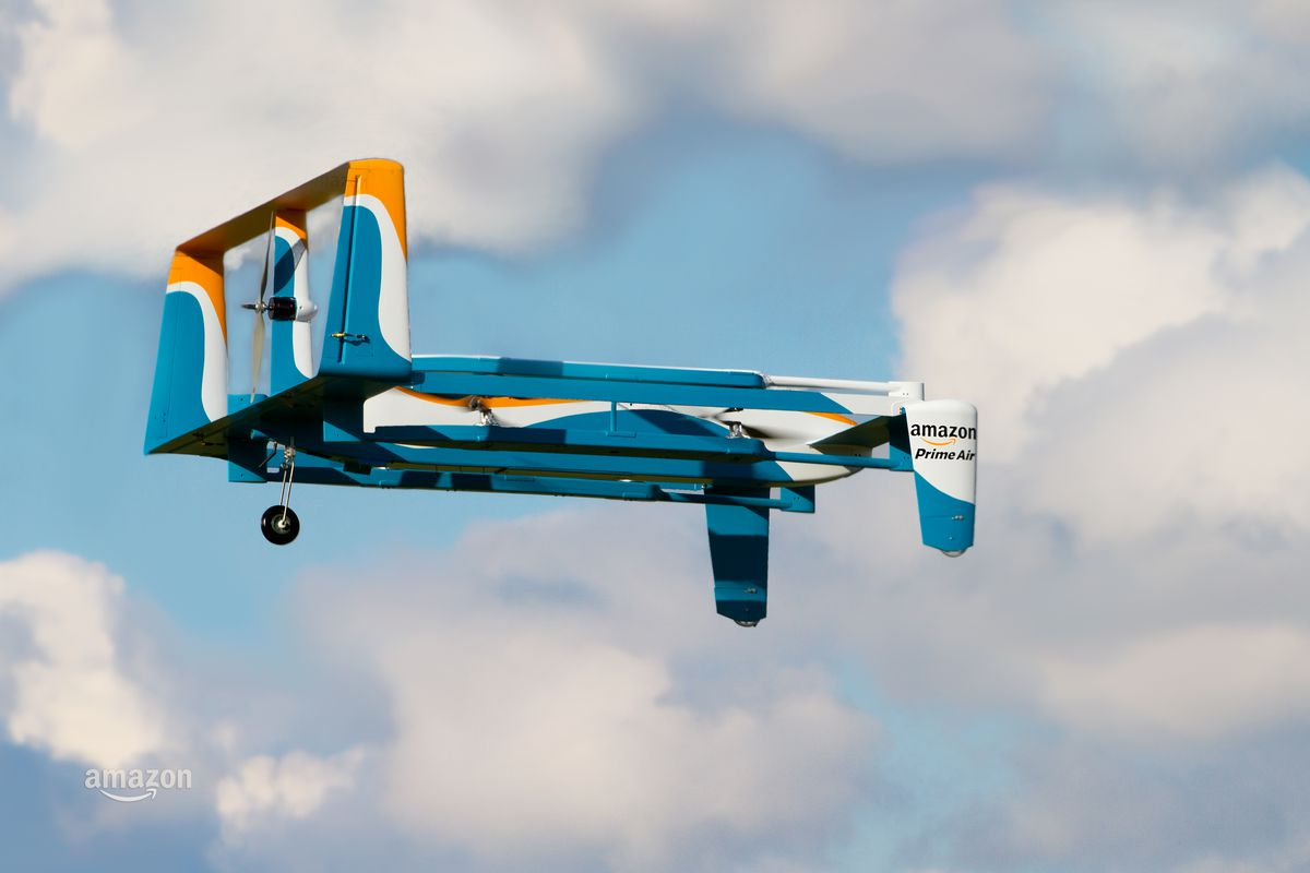 Amazon's next innovation.. a delivery drone that understands gestures