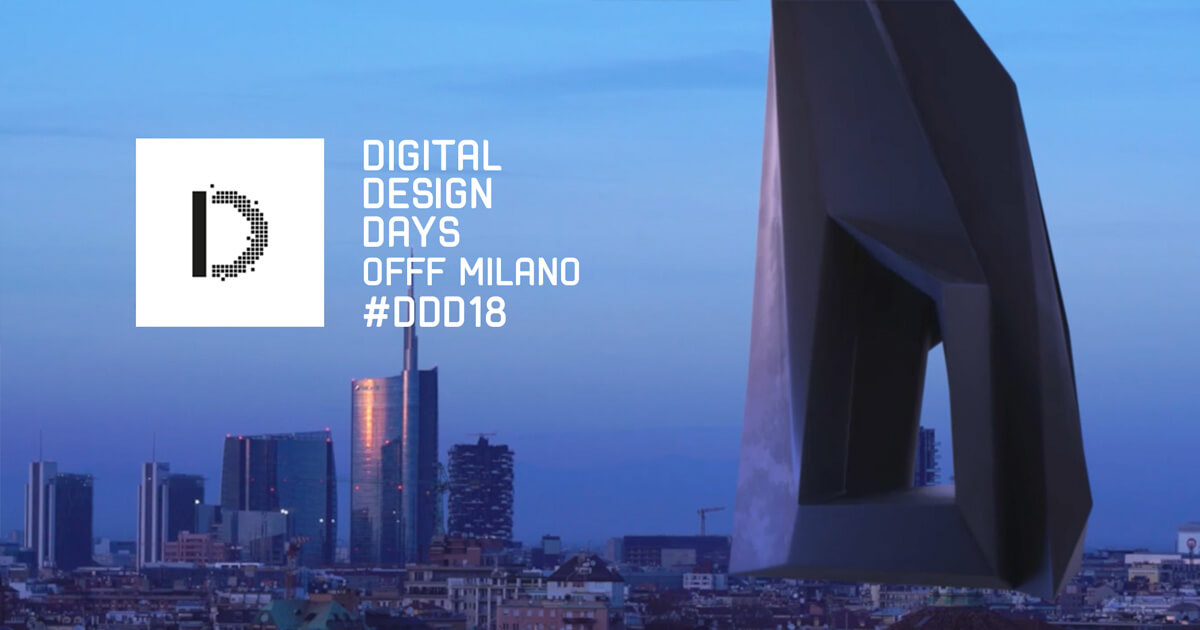 La terza edizione dei Digital Design Days, una full immersion nel design digitale