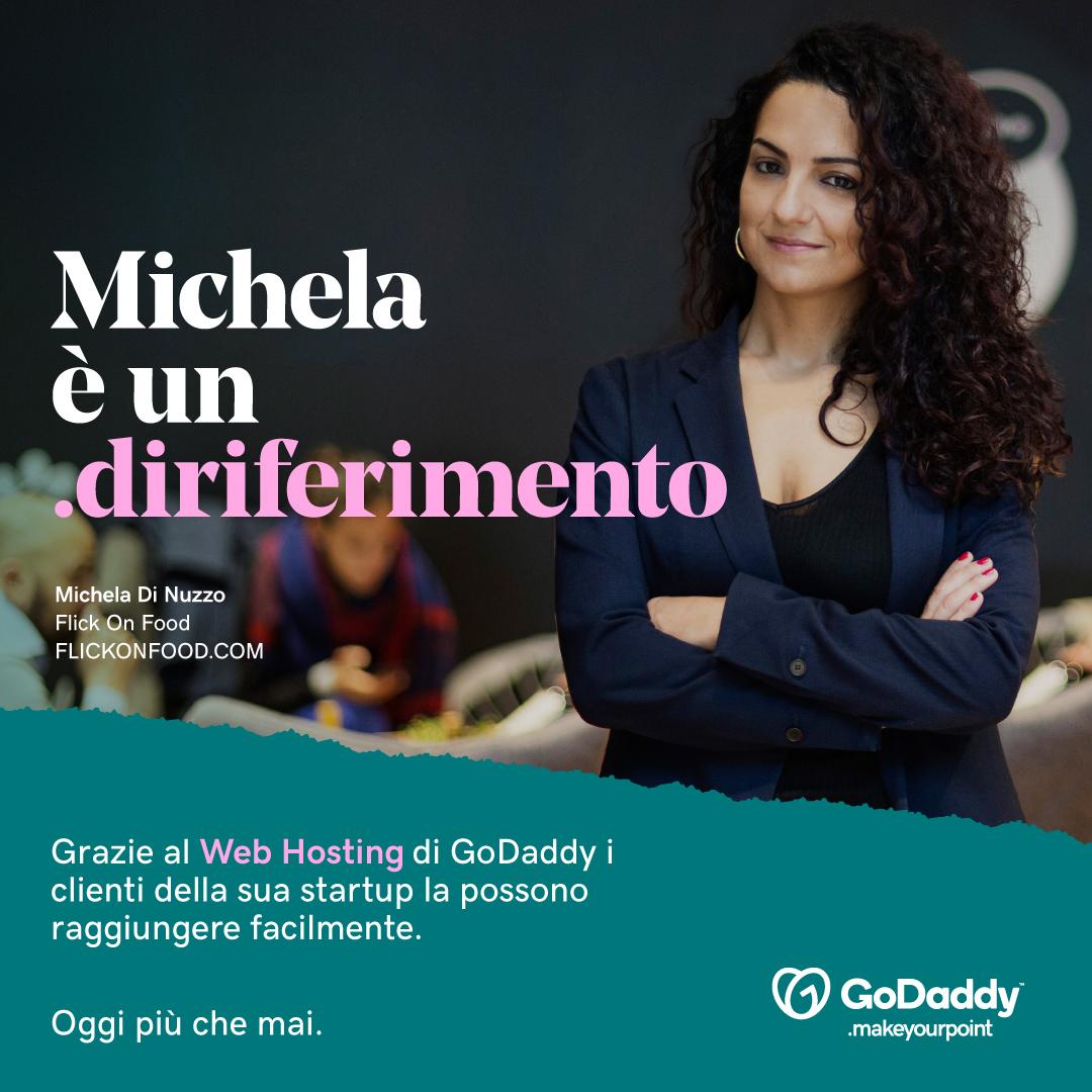 Makeyourpoint la campagna GoDaddy: al centro gli imprenditori