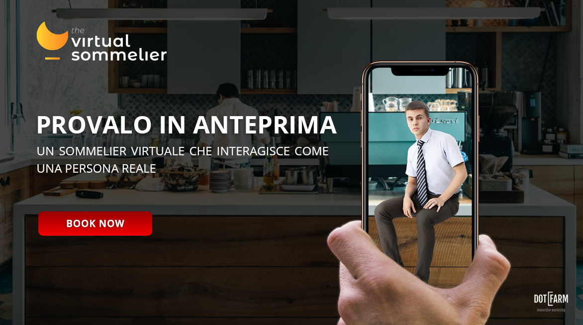 Virtual Sommelier Banner - Dotfarm