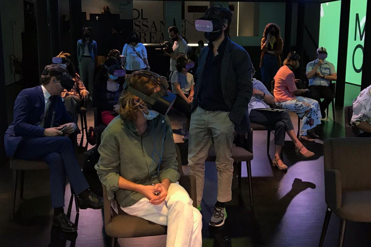 """Cinema e Realtà Virtuale: stiamo vivendo un """"Rinascimento culturale""""."""